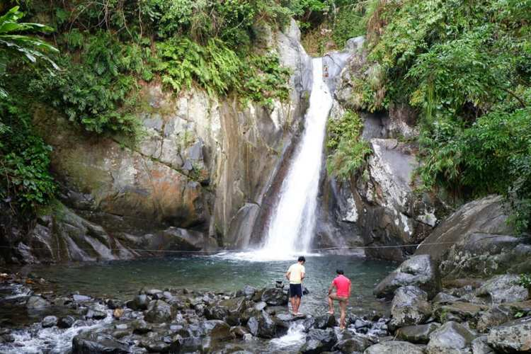 Bulawan Falls is one of the tourist spots in Aurora province.
