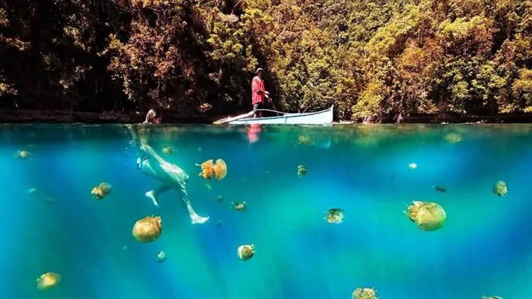 Tojoman Lagoon is one of Surigao Del Norte tourist spots