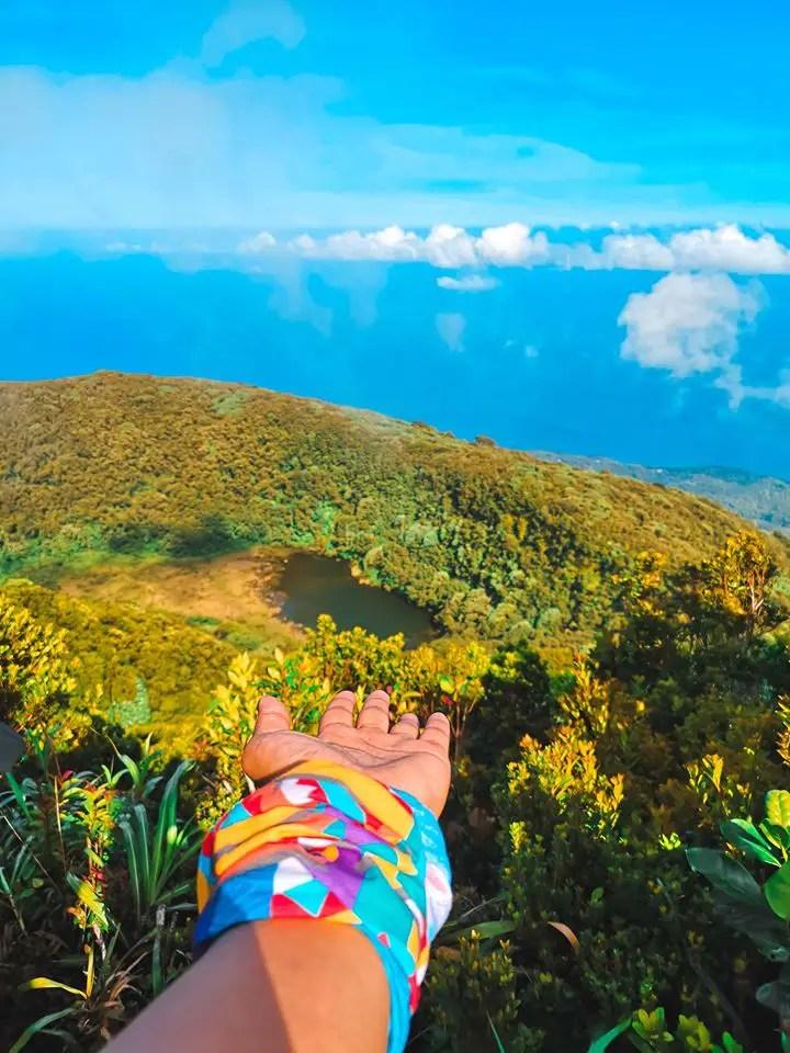 Mt Hibok-Hibok is one of Camiguin tourist spots.