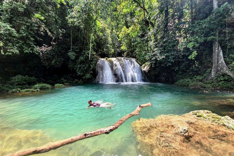 Magpamangaw Falls is one of Davao Oriental tourist spots