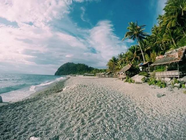 Mabua Pebble Beach is one of Surigao Del Norte tourist spots.