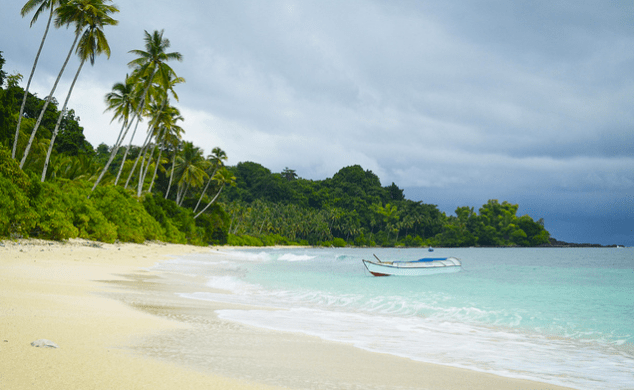 Lampinigan Island is one of the best Basilan tourist spots