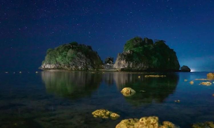Tatlong Pulo Beach is one of the best guimaras tourist spot