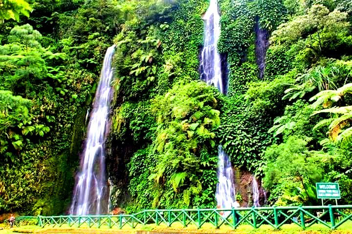 Botong Twin Falls is one of the best tourist spots/attractions in Sorsogon province