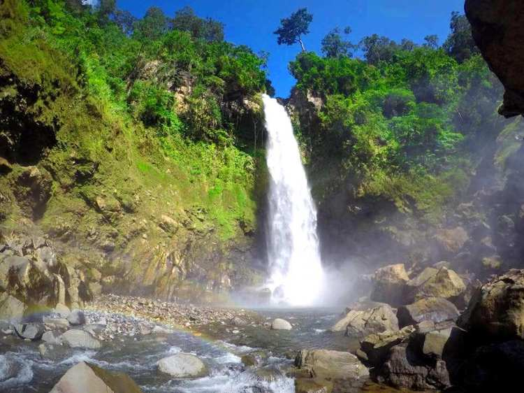 Busay Falls is one of the best tourist spots/attractions in Sorsogon province