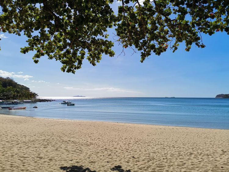 Nasugbu Beach is one of the famous tourist spots/attractions in Batangas province.