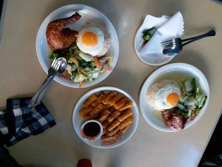Meals at Good Taste Baguio