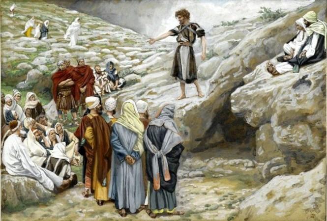 Saint John the Baptist and the Pharisees Mark 1_3