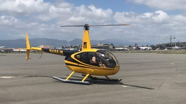 Safe & Sexy - Our Robinson R44 Helicopter