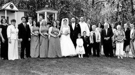 Seattle Wedding Photography Wedding Panorama at St. Joseph's Church