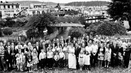 Roche Harbor Wedding Panorama
