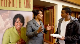 Dr. Bernice King Visits Seattle Pacific University