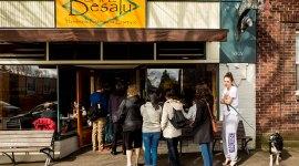 Cafe Besalu Sunday Morning Sidewalk Lineup in Ballard