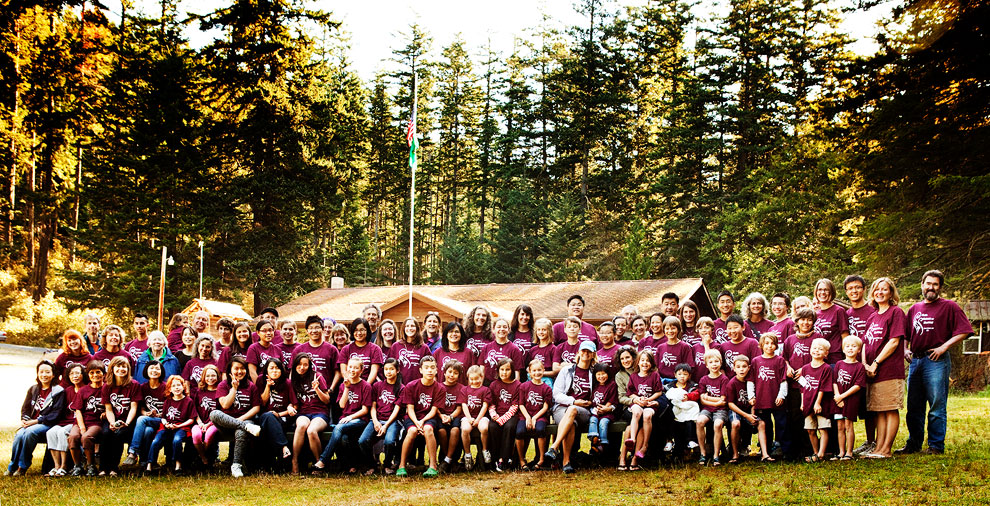 On Orcas Island every summer is the music camp Music, Meadows and Mountains.