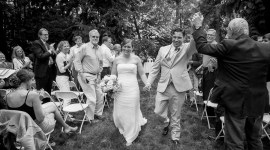 Wedding Photography Bainbridge Island Panoramic Portrait