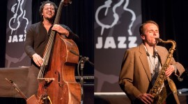Neil Welch, D'Vonne Lewis and Evan Flory-Barnes Trio