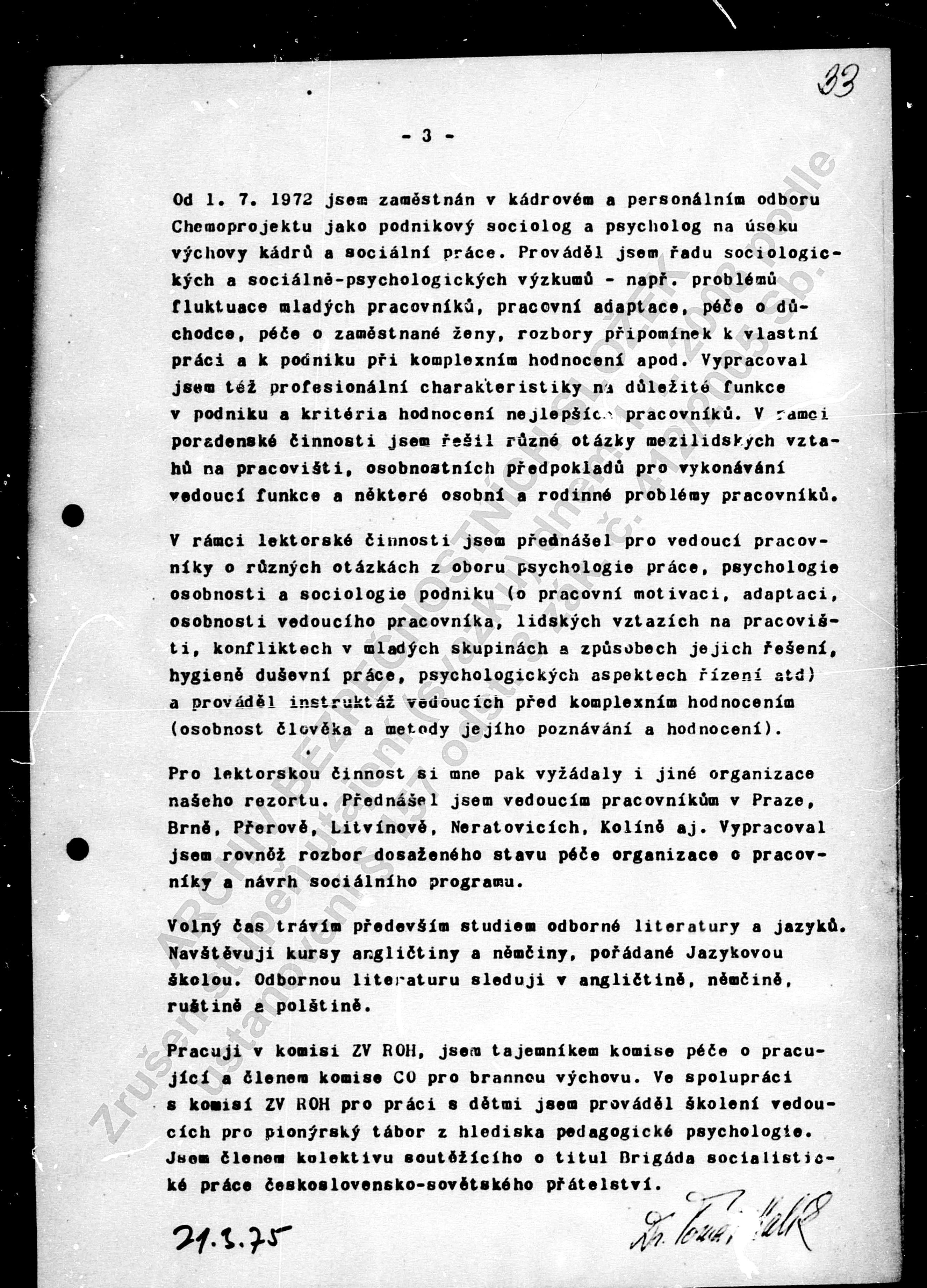 Životopis Halík 1975 (3)