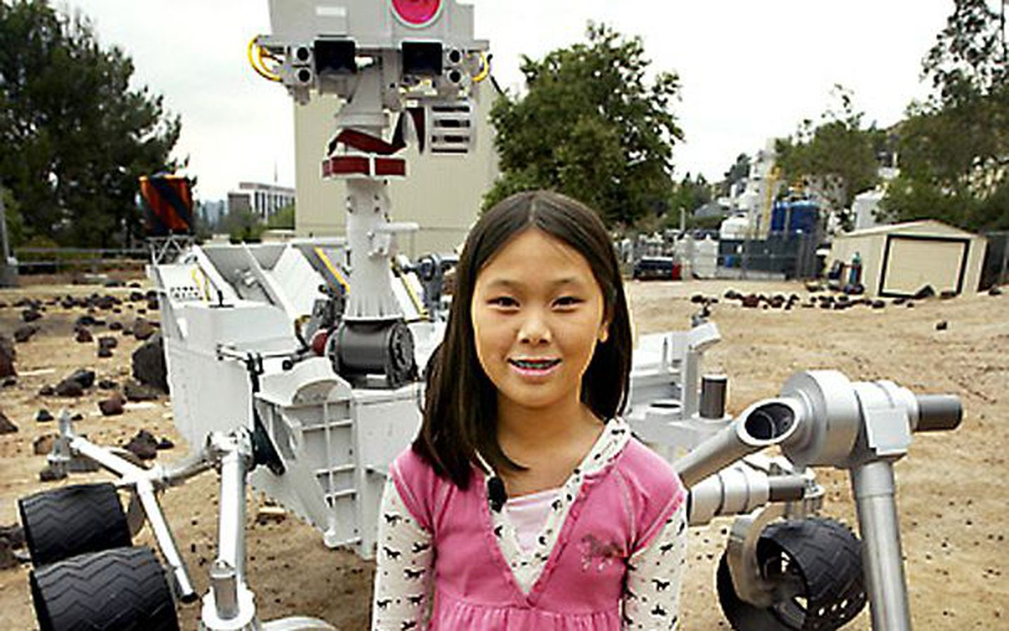 At Age 11 This Girl Named The Curiosity Rover