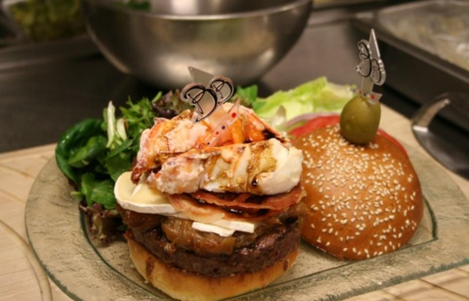 America's most expensive burgers: The 777 Burger