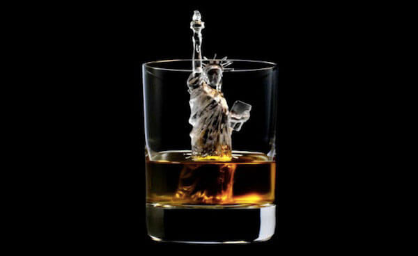 3D Statue of Liberty ice cube