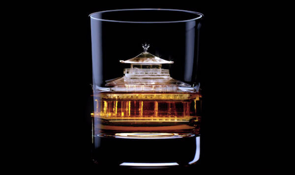 3D-milled Palace ice cube by Suntory Whiskey