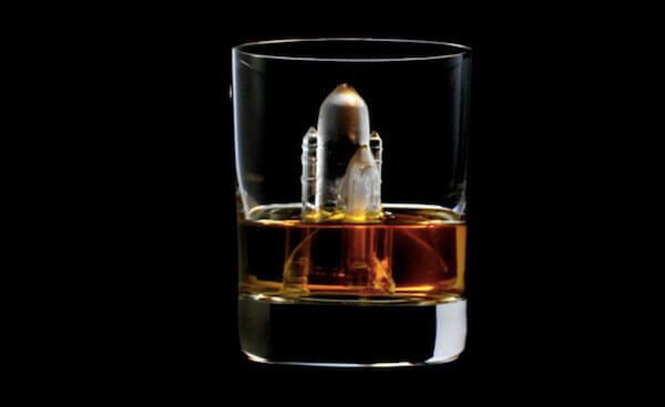 Cool 3D-milled ice cubes that are a work of art: Space Shuttle