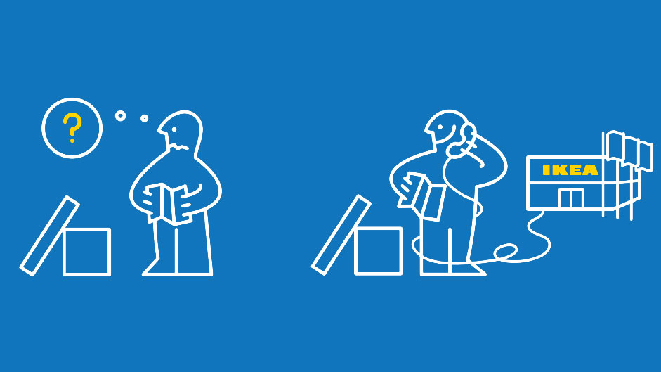 IKEA instructions humorously depict handling real life