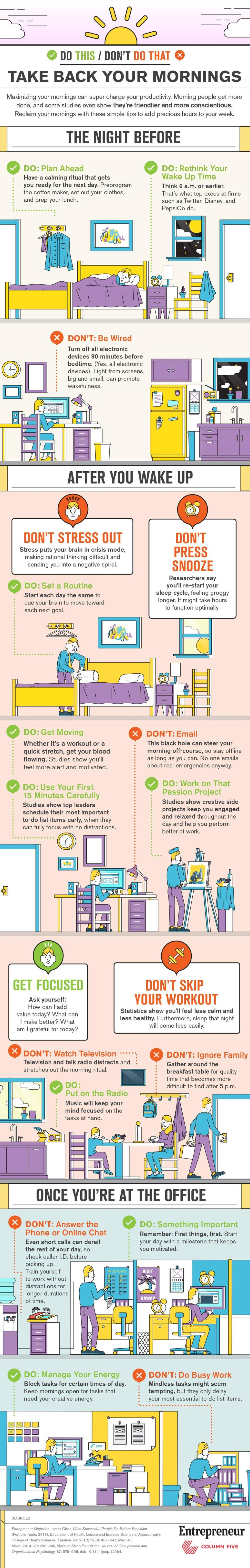 Infographic: Take back your mornings