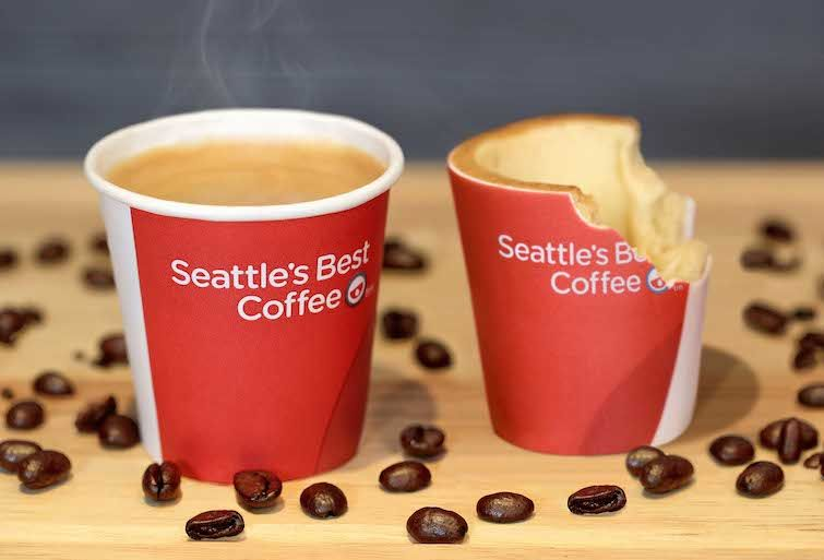 KFC unveils edible coffee cups