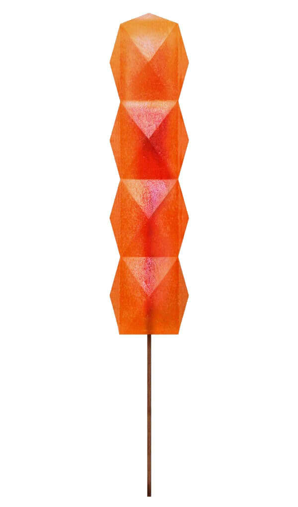 Colourful geometric popsicles, almost too gorgeous to eat