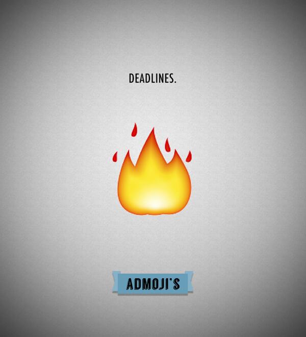 Admojis: Deadlines
