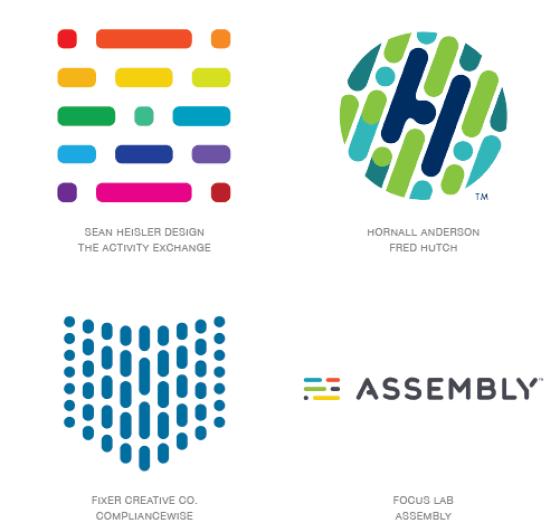 Emerging logo design trends: Coded logos