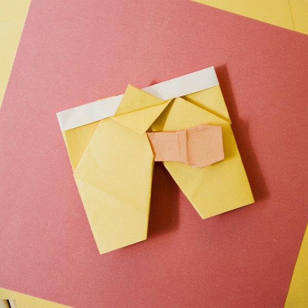 Pornogami book shows you how to fold sex-themed origami