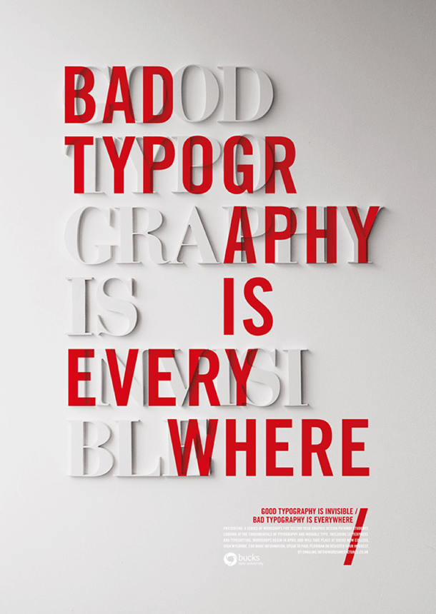 Typography can boost a brand by being invisible