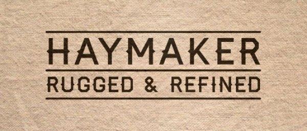 Free font: Haymaker