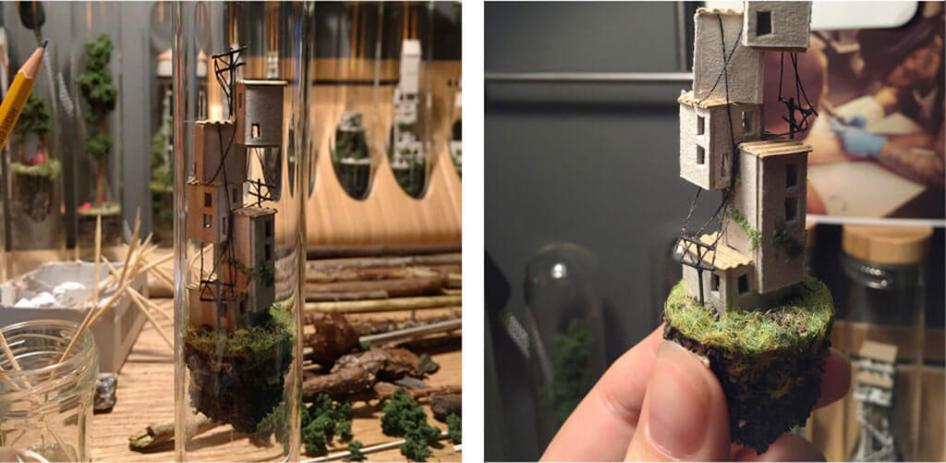 Micro Matter: Discover tiny worlds captured in glass tubes