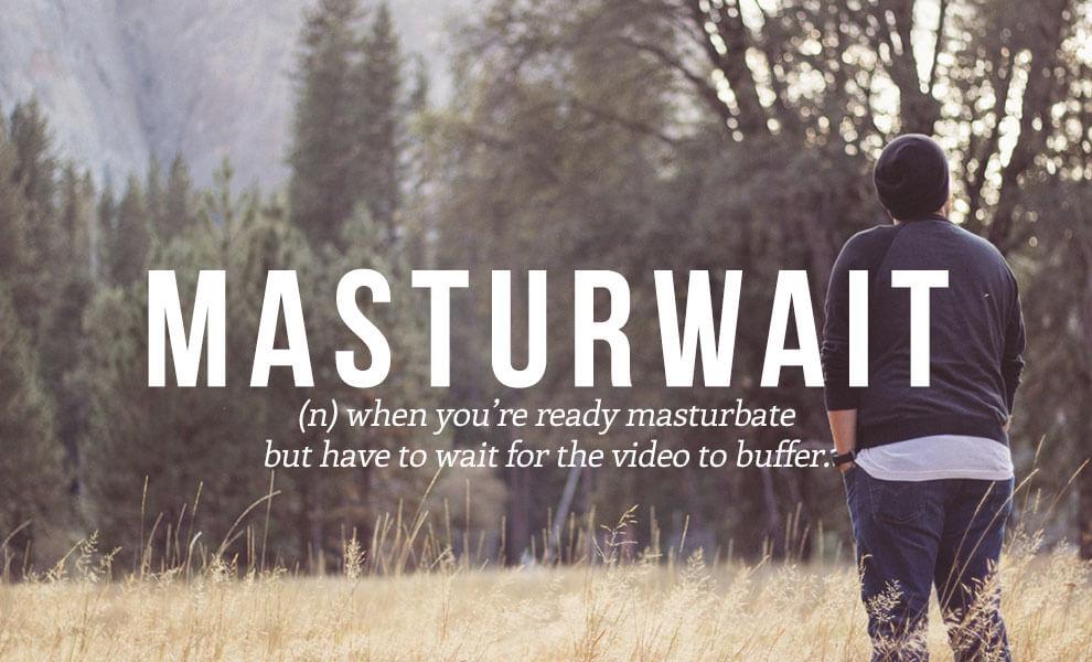 Highly sexual words: Masterwait