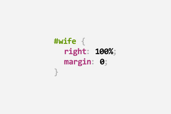 Funny puns inspired by CSS for web designers