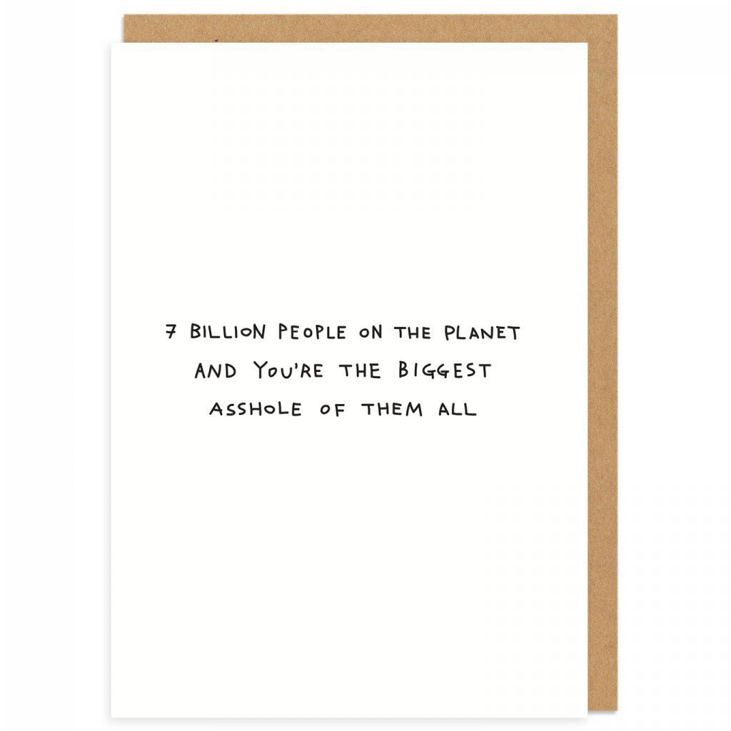 Rude greeting cards by Paul Gandhi