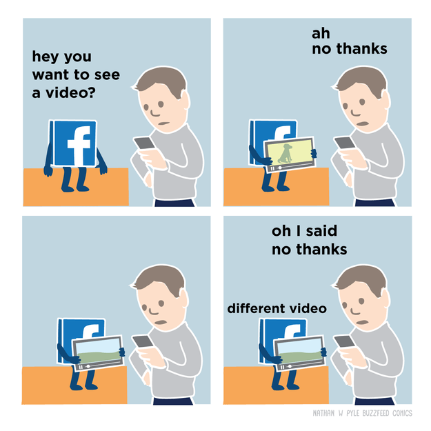 The truth about Facebook: It chooses for you