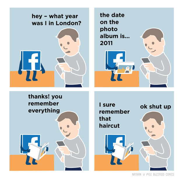 The truth about Facebook: It never forgets... anything