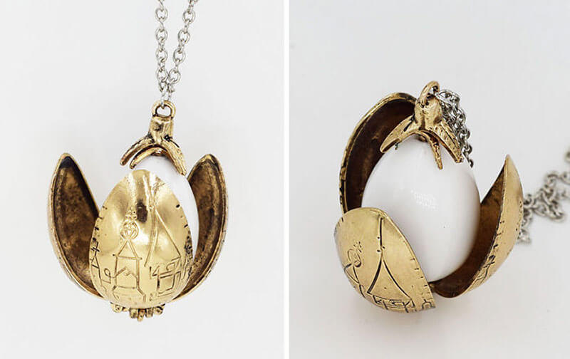 Harry Potter-themed necklace