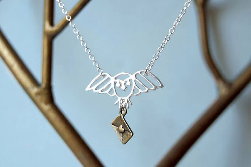 Harry Potter jewellery: Hedwig's Necklace