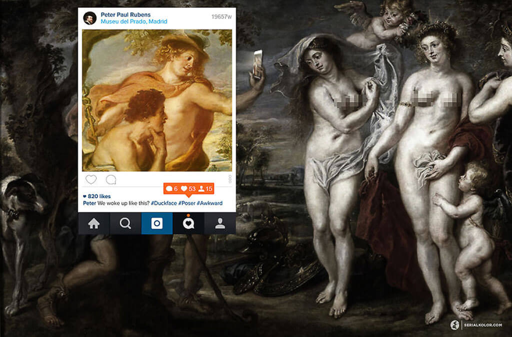 We woke up like this? Renaissance art by Serial Kolor