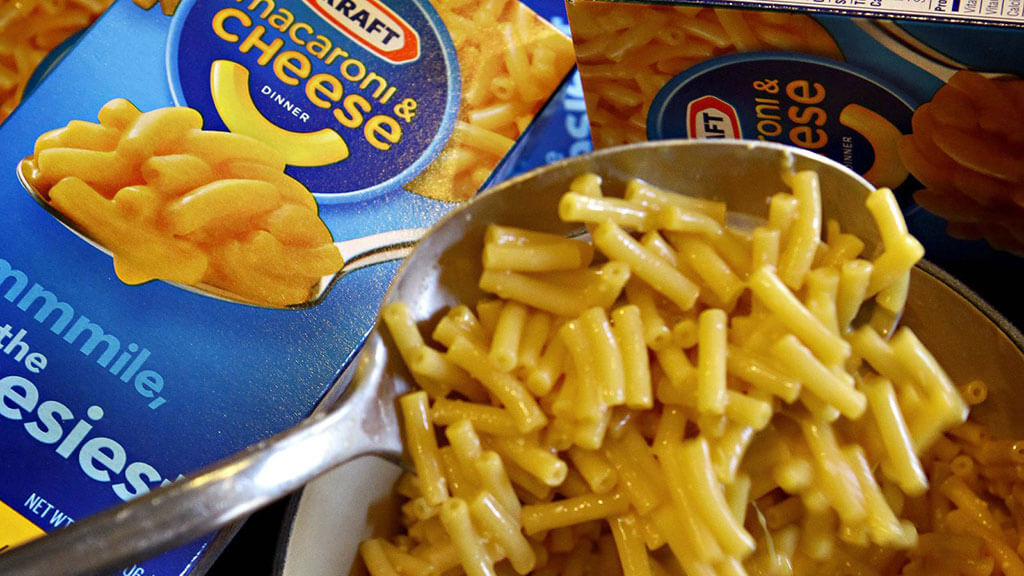 Canadians eat a lot of mac and cheese