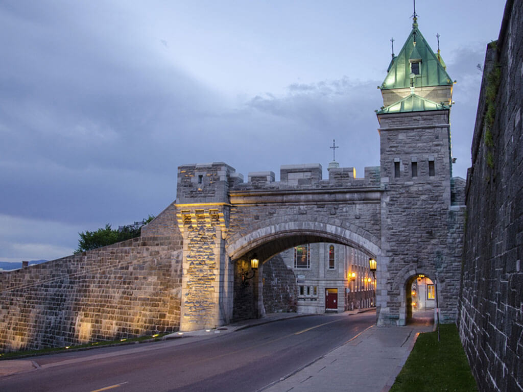 The only walled city in North America