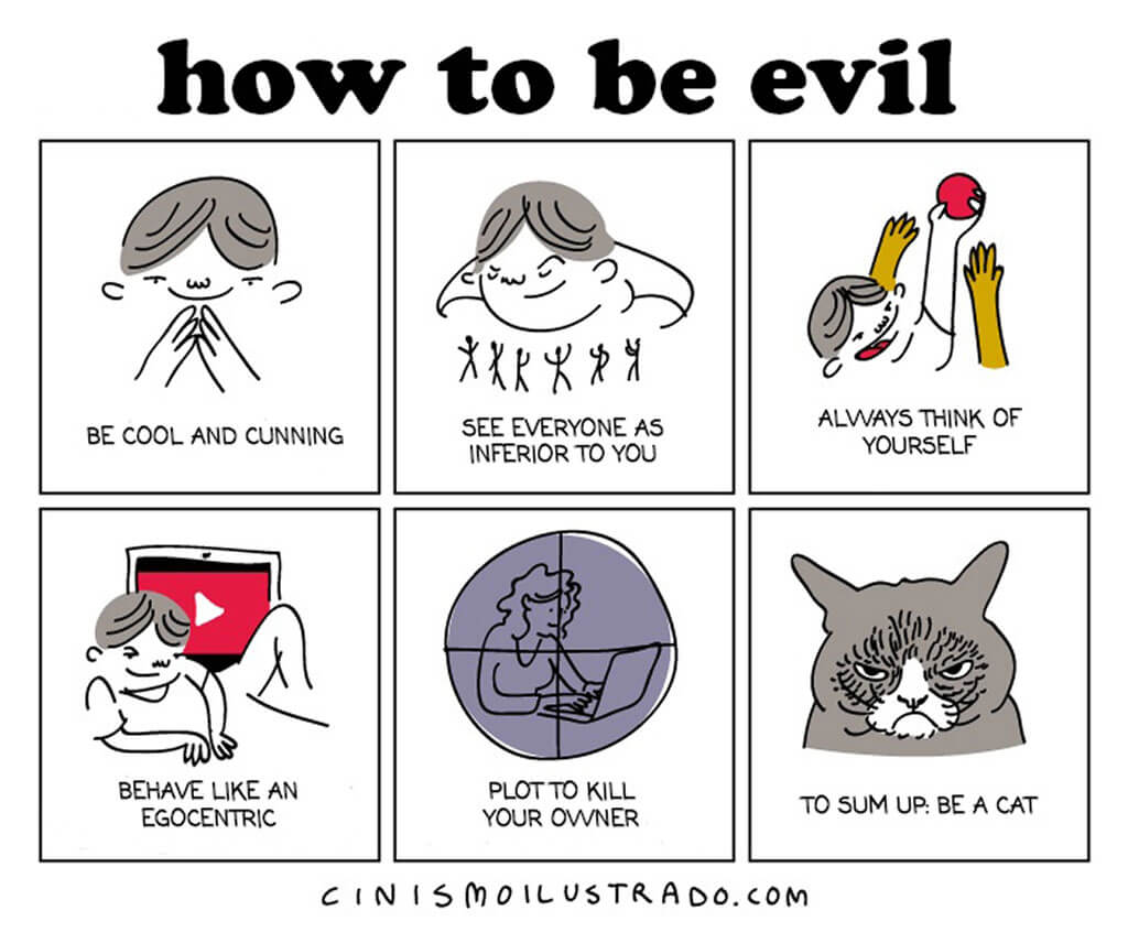 How to be evil