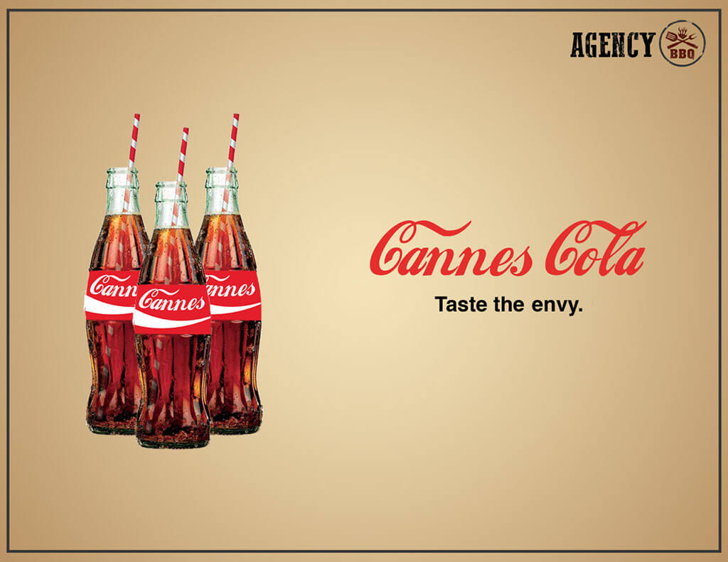 Cannes Cola bbq item