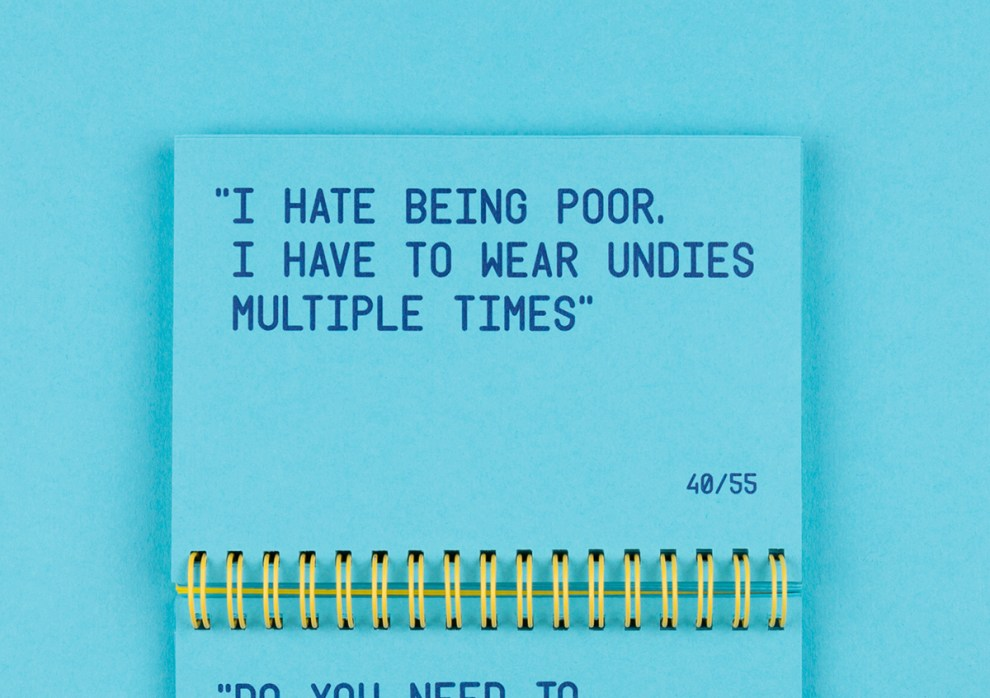 Ad Agency Immortalizes Funny Quotes From A Client Daniel Swanick