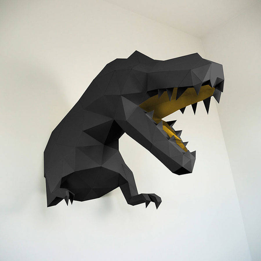 low-polygon-geometric-animal-head-trophies-t-rex